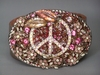 Pink Peace Buckle